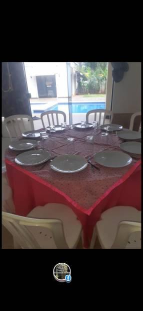 Alquiler mesa silla vajillas ventiladores