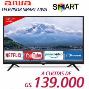 Smart tv HD Aiwa 32 pulgadas
