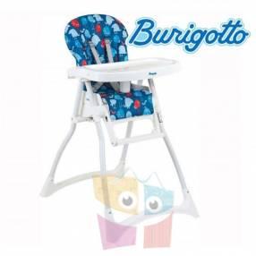 Sillita de alimentación para bebé Burigotto Merenda Azul