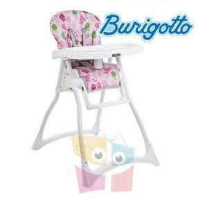 Sillita de alimentación para bebé Burigotto Merenda Passarinho Rosa