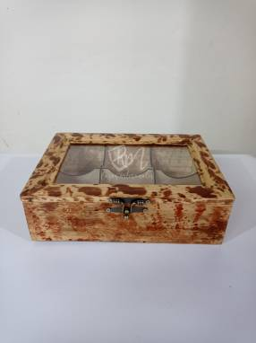 Cajas de te de madera