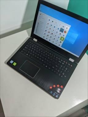Notebook Lenovo 15 pulgadas touch i7 8gb ram 256 SSD Nvidia retroiluminado