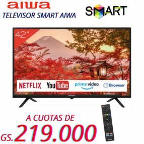 Smart TV Aiwa de 42 pulgadas Full HD