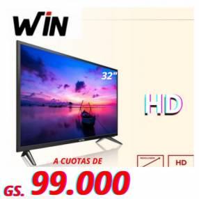 TV LED Win de 32 pulgadas HD