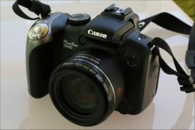 Cámara Canon SX20 IS 12.1mpx filmadora HD semi nueva