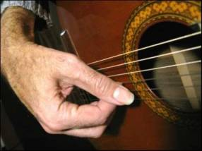 Clases de guitarra popular a domicilio