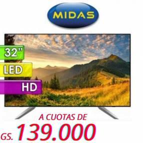 Smart TV Midas de 32 pulgadas HD