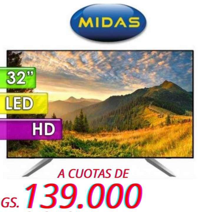 Smart TV Midas de 32 pulgadas HD - 0