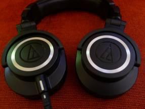Auricular Audio Technica ATH-M50X semi nuevo