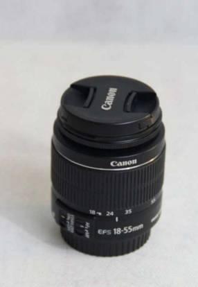 Lente Canon EF-S 18-55MM F/3.5-5.6 ISII semi nuevo