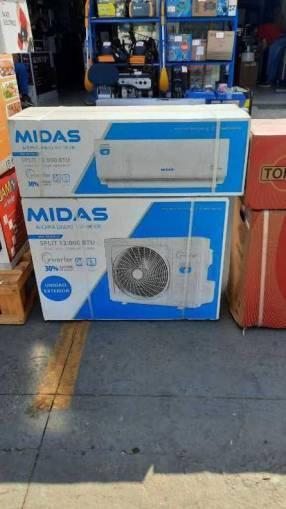 Aire acondicionado Midas de 12.000 btu invertir