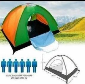 Camping para 6 personas