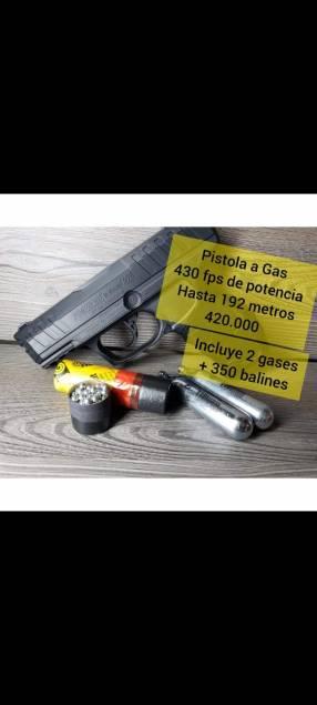 Pistola a gas