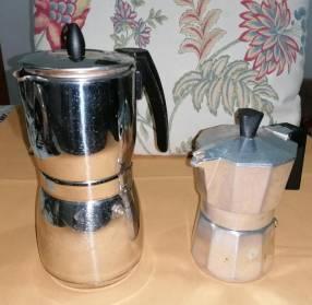 Cafeteras semi nuevas