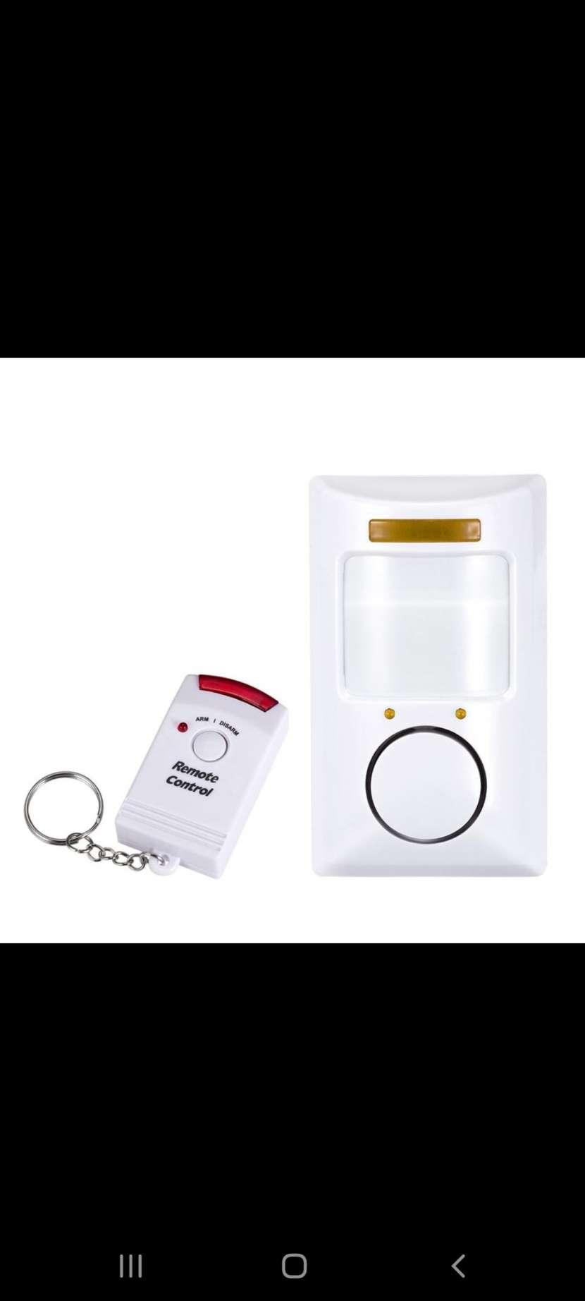 Sensor de movimiento con alarma y 2 controles - 1