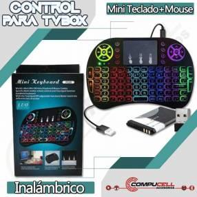 Control para TV Box mini teclado + mouse inalámbrico