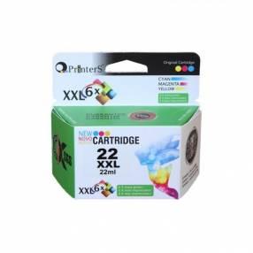 Cartucho Printers 22 XXL Tricolor