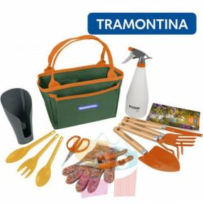 Kit de herramientas de jardín de 13 piezas Tramontina