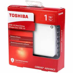 HD externo 1TB Toshiba Canvio usb 3.2