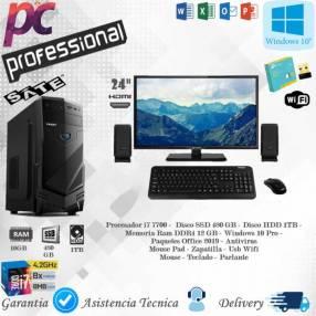 Computadora de mesa intel core i7 Pro