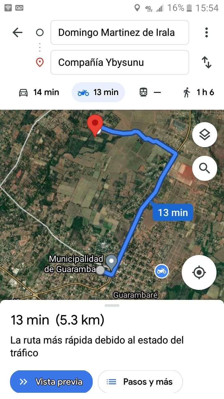 Terreno de 1,5 hectáreas en Guarambaré - 4