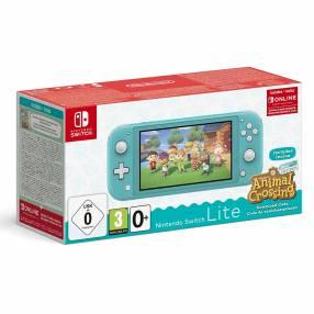 Consola Nintendo Switch Lite con Animal Crossing