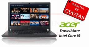 Notebook Acer TravelMate Intel Core i5 14 pulgadas