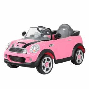 Auto a bateria mini cooper rosa car-dls06