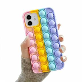 Case silicona anti stress for iphone 11