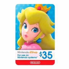Nintendo eShop Gift card 35$