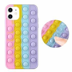 Case silicona anti stress for iphone 12