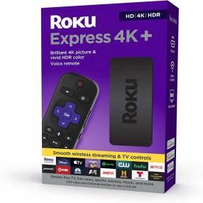 Adaptador smart tv roku express 4k