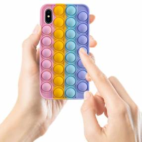 Case silicona anti stress for iphone x