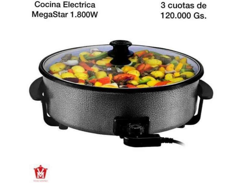 Cocina eléctrica Mega Star 1.800W - 0