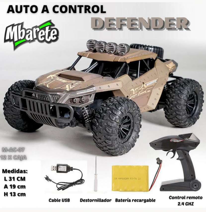 Auto a control Defender - 0