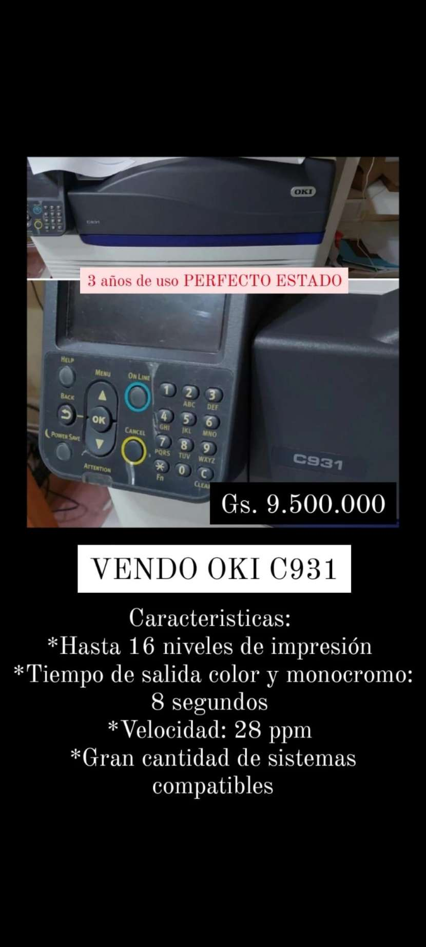 Impresora digital Oki - 0