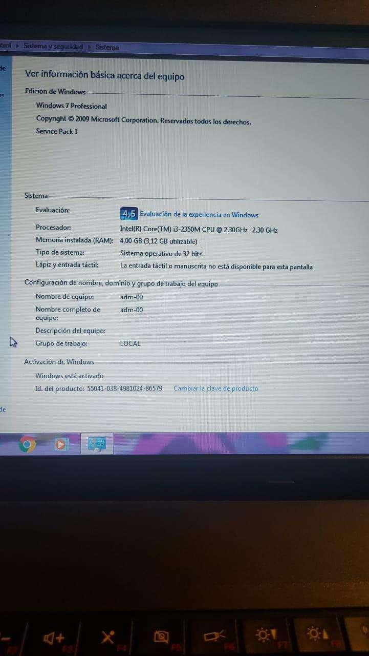 Notebook Lenovo Thinkpad Intel Core i3 - 8
