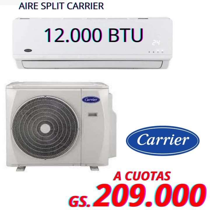 Aire acondicionado Carrier de 12.000 btu - 0