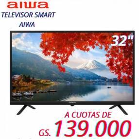 Smart TV Aiwa de 32 pulgadas HD