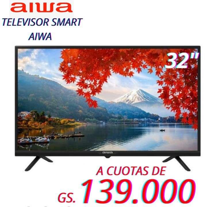 Smart TV Aiwa de 32 pulgadas HD - 0