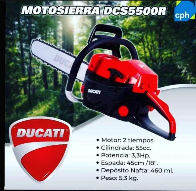 Motosierra Ducati - 0