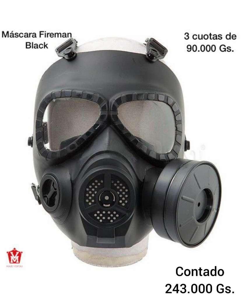Máscara Fireman de humo black - 0