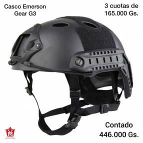 Casco táctico negro Emerson Gear G3