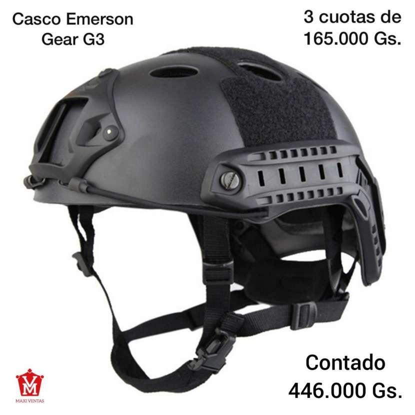 Casco táctico negro Emerson Gear G3 - 0
