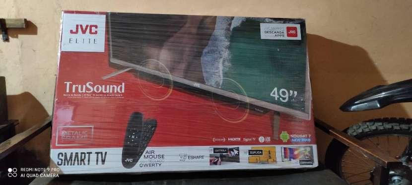 Smart TV JVC Trusound 49 pulgadas Full HD - 0