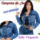 Campera de Jeans para dama Sol - 0