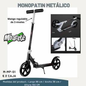 Monopatín metálico