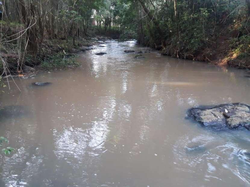 Terreno de 5 hectáreas en San Juan del Paraná con arroyo - 0