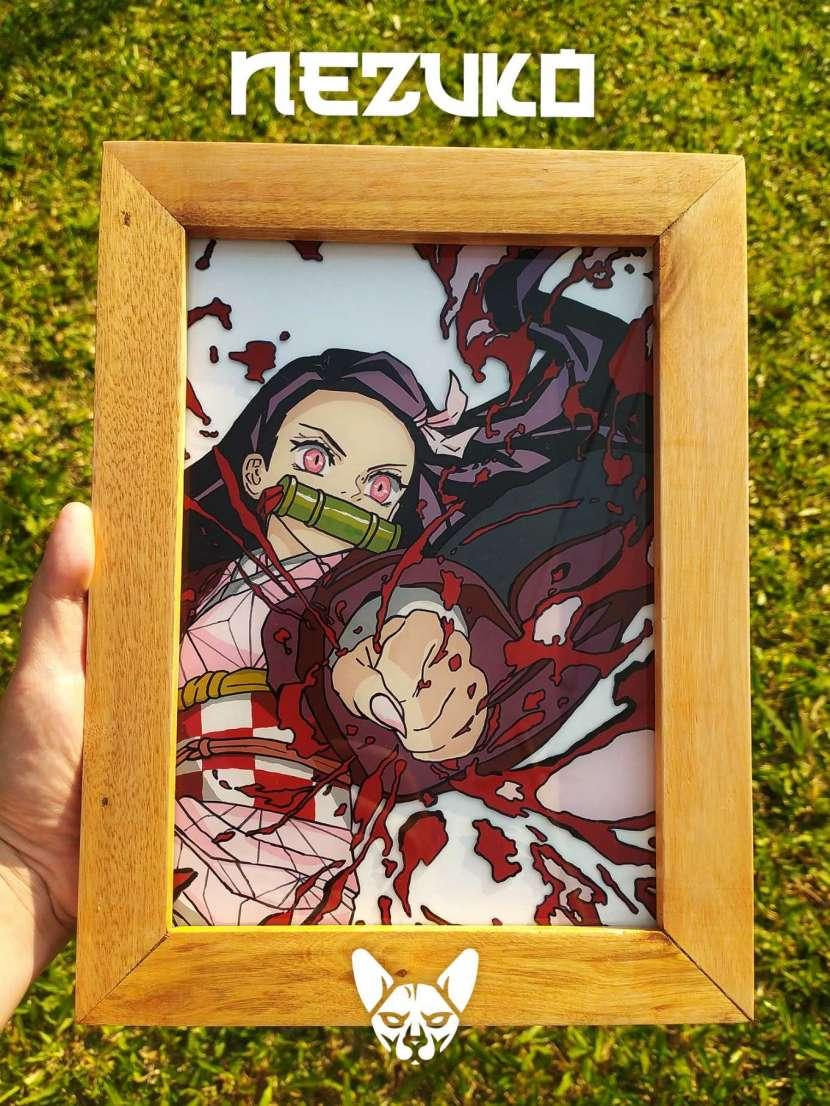 Cuadros pintura sobre vidrio - 0