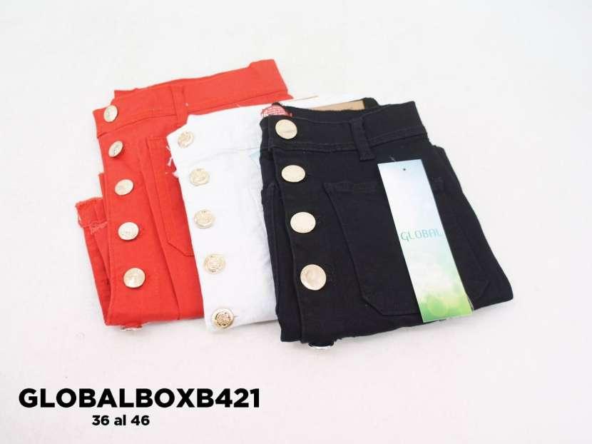 Pollerita de jeans tipo sport GLOBALBOXB421 - 1